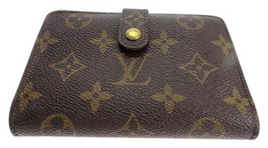 Louis Vuitton Porte Monnaie Billets Viennois Kisslock Wallet (890)