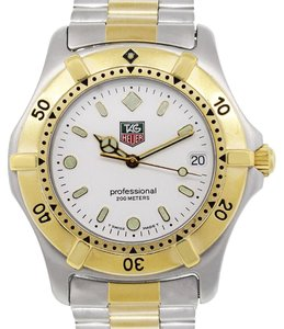 TAG Heuer Tag Heuer WE1122-R Professional 2000 Series Two Tone Watch