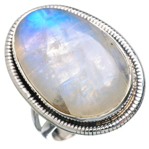 Beautiful MOONSTONE Sterling Silver Ring