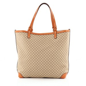 Gucci Canvas Tote in Orange