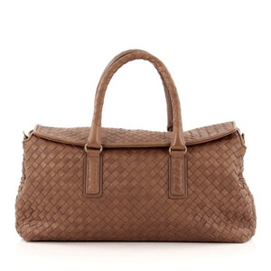 Bottega Veneta Top Flap Nappa Satchel