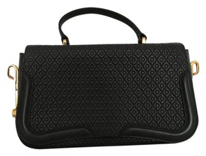 Tod's Studded Leather Black Clutch