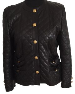 Other Quilted Lambskin Leather Jacket