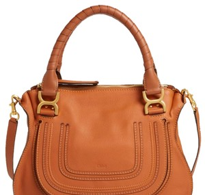 Chloé Satchel in Tan