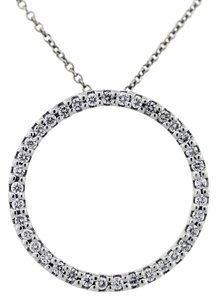 Roberto Coin Roberto Coin Circle of Life Diamond Pendant and Chain
