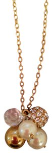 J.Crew J.Crew Gold and Pearl Pendant Necklace