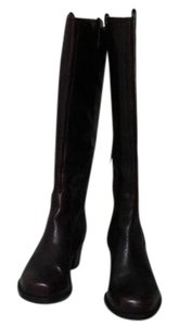 Jessica Simpson Burgundy /Blk Tango Lth Boots