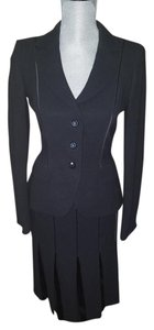 Escada Escads Couture Black Skirt Suit Size 2