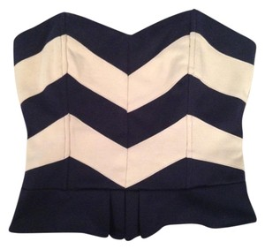 Urban Outfitters Top navy and nude