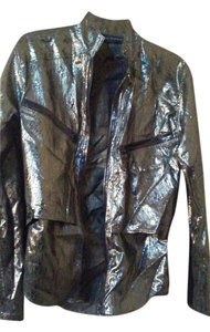 Anthony Vaccarello Top Brown