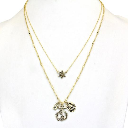 Preload https://item3.tradesy.com/images/gold-vintage-nautical-helm-anchor-charms-double-chain-necklace-1990922-0-0.jpg?width=440&height=440
