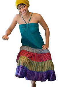 Multicolor Maxi Dress by Other Hippie Boho The Treasured Hippie Patchwork Handmade