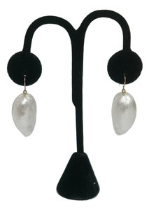 Alexis Bittar Alexis Bittar White Lucite Earrings