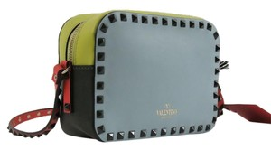 Valentino Rockstud Multicolor Camera Cross Body Bag