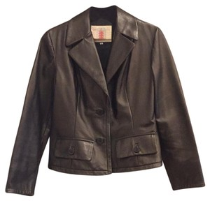 Custom made in Florence, Italy Leather Jacket