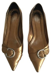 Façonnable Gold Flats