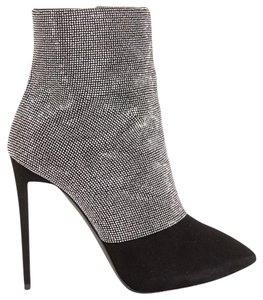 Giuseppe Zanotti Crystal Ankle Suede Boots