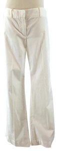 Theory Corduroy Leg Stretchy Flare Pants White