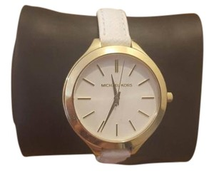 Michael Kors Michael Kors White/Gold Watch