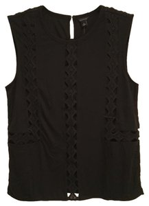 Ann Taylor Top Black
