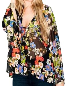 Show Me Your Mumu Top Black multi floral