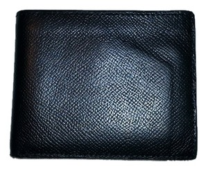 Hermès HERMES EPSOM LEATHER BIFOLD WALLET IN BLACK