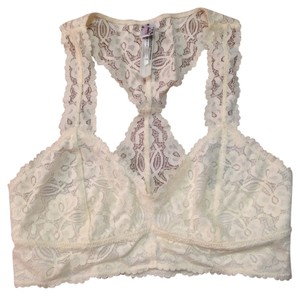 Free People Free People Galloon Lace Bralette Ivory-Small