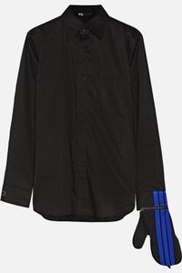 Y-3 Glove Button Down Shirt Black