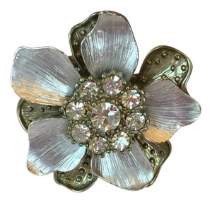 Bloomingdale's Rhinestone Fashion Flower Ring