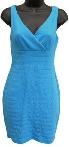 Express Spandex Wrap Wiggle Mini Dress