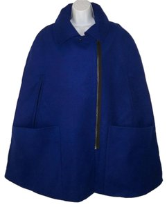 ASOS Cape Blue Heavy Coat