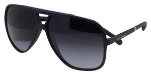 Dolce&Gabbana New DOLCE & GABBANA Sunglasses DG 6081 2616/8G Black Rubber Aviator