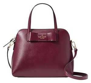 Kate Spade New York Satchel in Mulled Wine