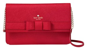 Kate Spade New York Kirk Park Veronique Pillbox Red Wkru4008 Cross Body Bag