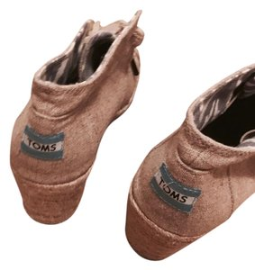 TOMS Light brown/ Wedges
