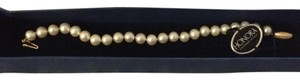 Fresh water pearl with 14 kt golld clasp Honora Cultured Pearls