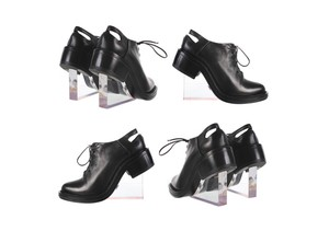 Simone Rocha Lucite Brogues Black Wedges