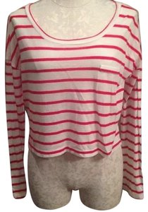Forever 21 T Shirt Red and white