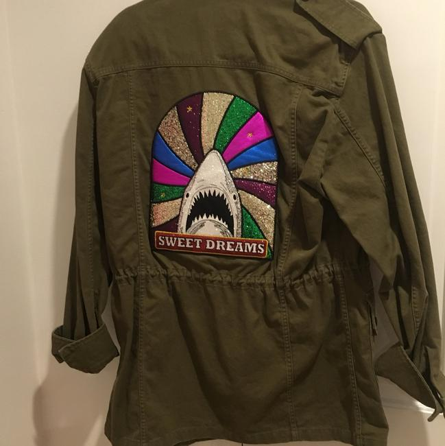 Saint Laurent Military Jacket