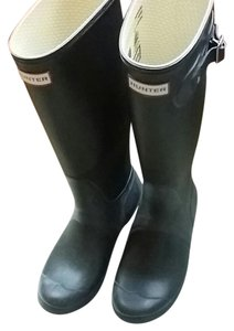 Hunter Rubber Brown Boots