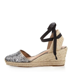 SCHUTZ Gold, Tan Wedges