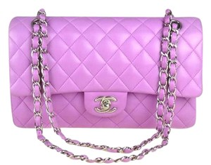 Chanel Classic Double Lambskin Medium Shoulder Bag