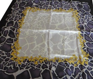 Versace Versace 100% Muli Color Scarf Made in Italy
