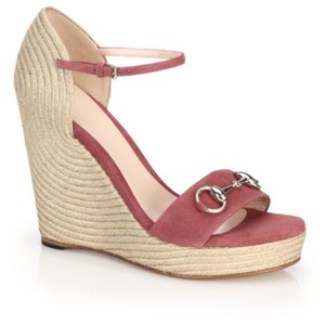 Gucci DARK PINK Wedges
