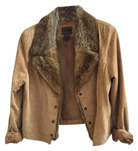 Uniform John Paul Richard Camel Leather Jacket