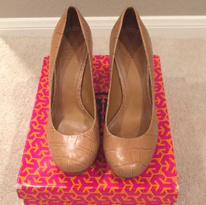 Tory Burch Royal tan Platforms