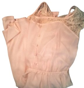 Candie's Vintage Lace Rose Gold Dress