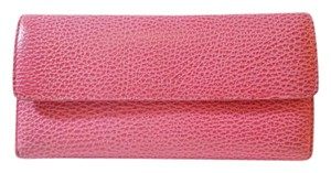 Lodis LODIS Leather Wallet AUDREY Checkbook Trifold Clutch