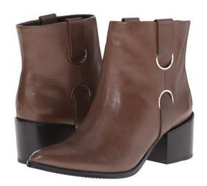 Rachel Zoe Leather Leather Lining Brown - Taupe (Smog Calf) Boots