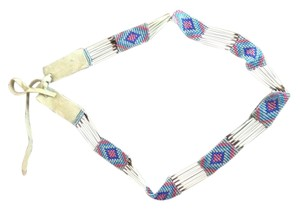 Native American Art Authentic Native American Beaded Headband.